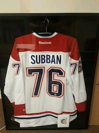 SUBBAN SIGNED JERSEY