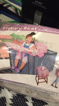 baby's pink and white floral travel cot box Rochester, 14607