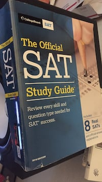 Like New 2018 SAT Study Guide