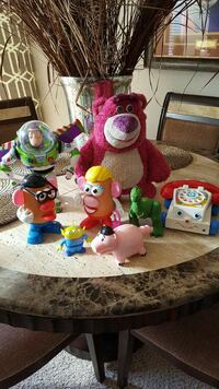 assorted plush toys and toys Aurora, 80015