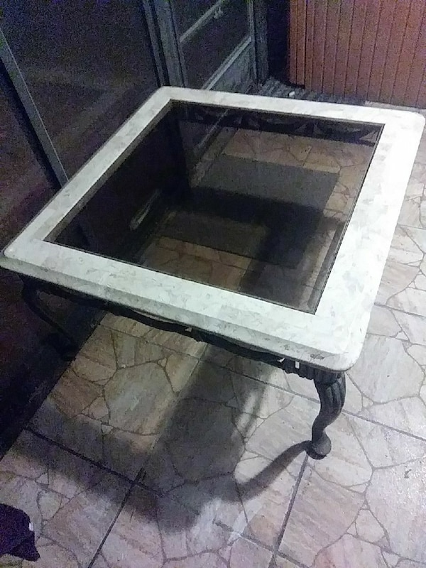 Pleasant Glass Top Cultured Marble Coffee Table Heavy Caraccident5 Cool Chair Designs And Ideas Caraccident5Info