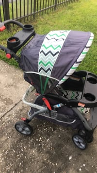 baby's black and grey chevron umbrella stroller Kissimmee, 34741