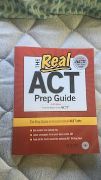ACT prep guide  North Attleboro, 02760