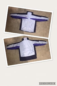 purple and white crew-neck shirt Woodford, 22580