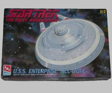 Star Trek the next generation box
