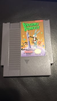 The Bugs Bunny Birthday Blowout (Nintendo Entertainment System, 1990) NES Game Cartridge