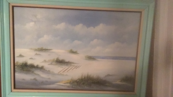Relaxing Beach painting