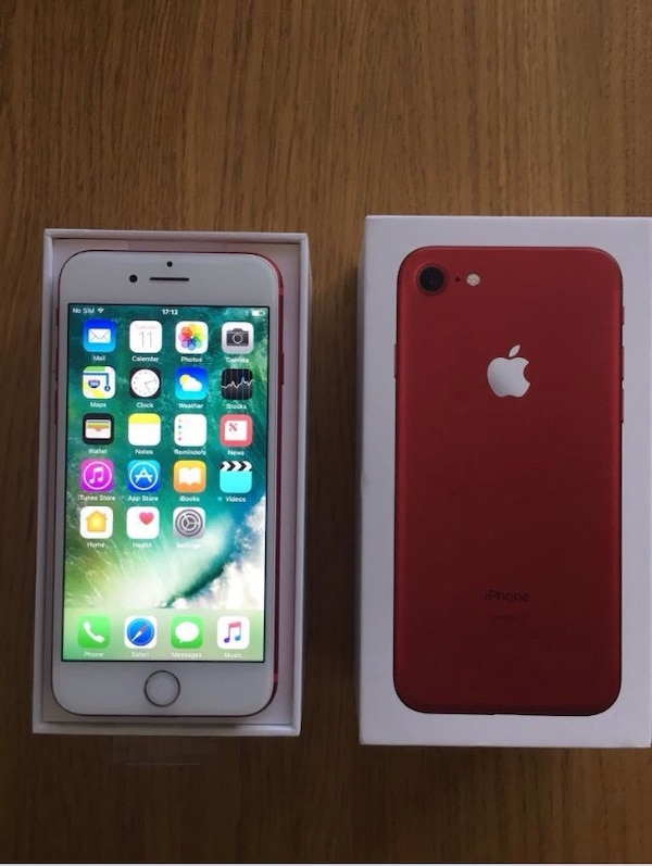 Produit red iphone 7 plus
