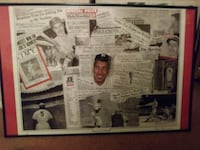 JOE DIMAGGIO HIGHLIGHT POSTER SIGNED BY ARTIST!! Manchester Township, 08759