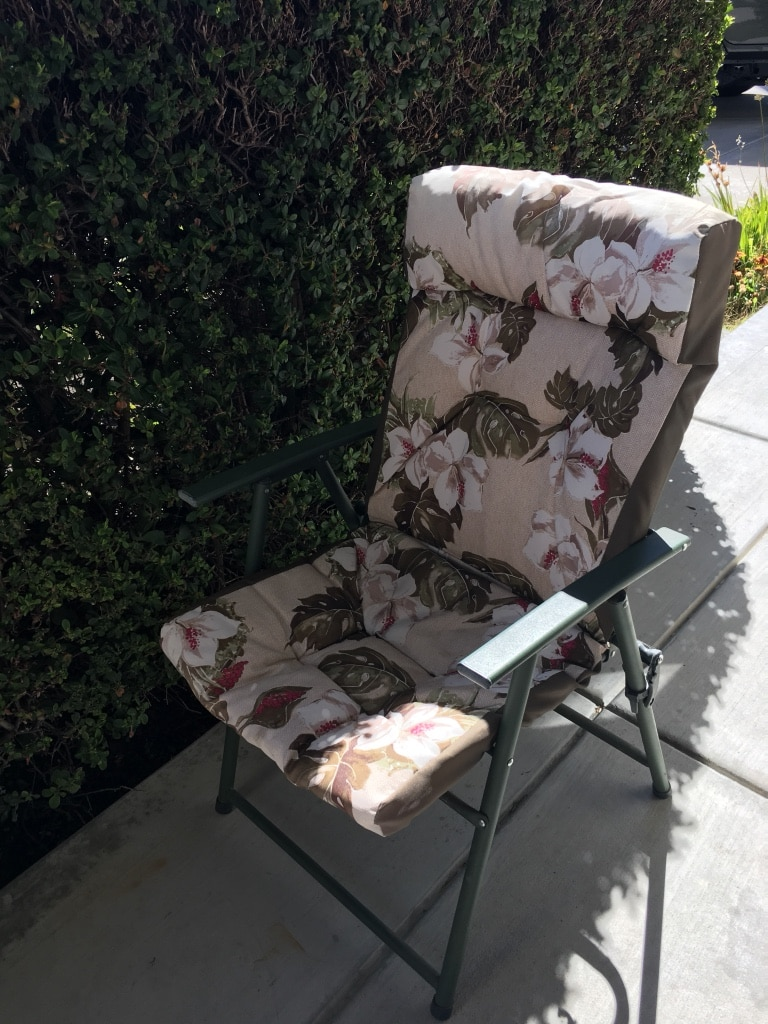 used green and pink floral folding chair for sale in dublin letgo rh us letgo com