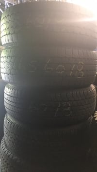4 used tires Bridgestone/ Dunlop 265/60/18  Keyport, 07735