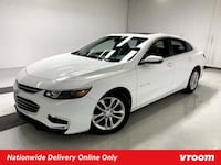 2017 Chevy Chevrolet Malibu Summit White sedan New York
