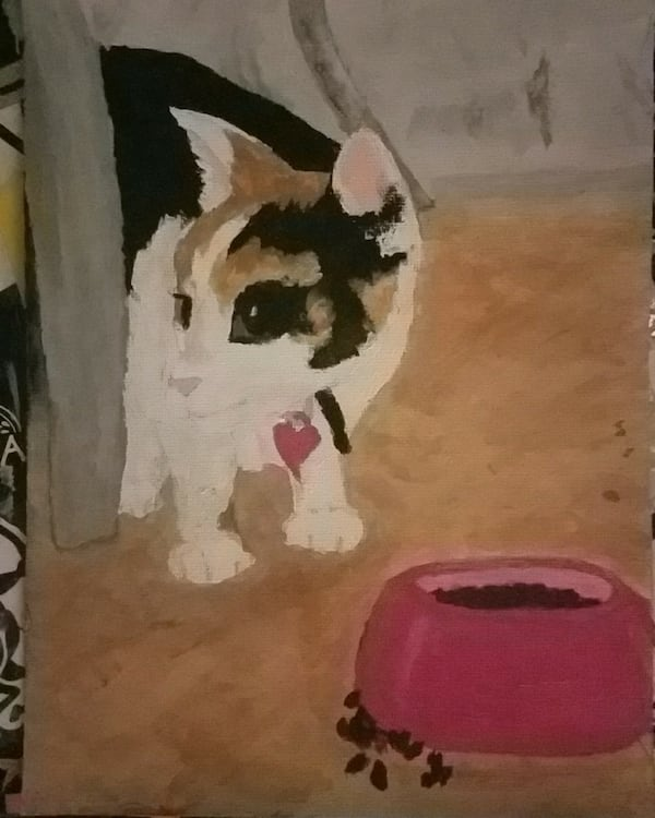 Pet portrait artist 4