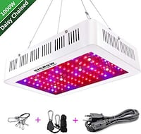 HIGROW 1500W Double Chips LED Grow Light Leominster, 01453