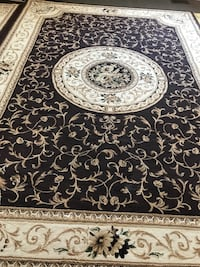 black and white floral area rug Windsor, N8R 0A4