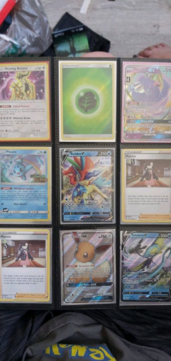 Pokemon card collection for sale  e05369fb-c0d1-404e-98d9-99abd7bea69c