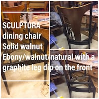 sculpture armed MCM dining chair 29 km