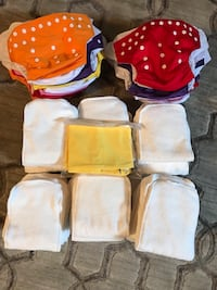 Cloth diapers - never worn 535 km