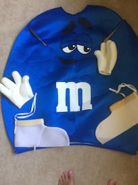 Blue and white and Green and white M&M Halloween Costumes  Taylor, 48180