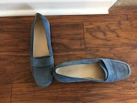 Ladies blue suede loafers by talbot's Fairview Heights, 62208