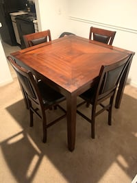 Counter height pub dining set