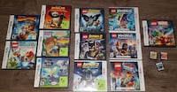 ASSORTED DS/3DS GAMES