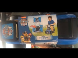 paw patrol ride on