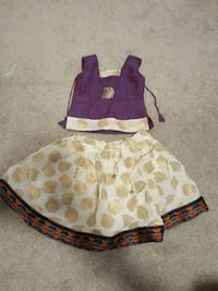 6-12 months baby girl Indian blouse and skirt Centreville, 20120