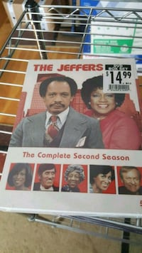 The Jefferson's The Complete Second Season DVD case Derry, 03038