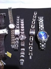 Nine West, Fossil, Guess $15 each