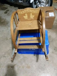 Antique toddler rocker/bounce chair. Oklahoma City, 73112