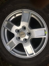 Brand new wheel and tire