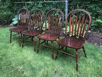 Set of 4 vintage chairs Mississauga, L5L 3A9