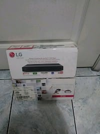 LG wireless streaming blue ray disc dvd player  Los Angeles, 90033