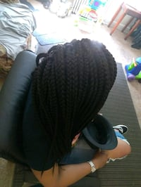 Crotchet box braids Washington