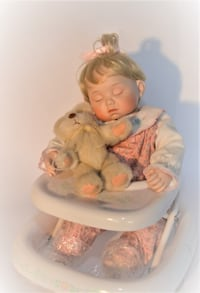 Antique collectible Porcelain Baby Doll ( From England) Cochrane