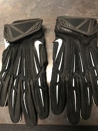 Nike football gloves. Size Small