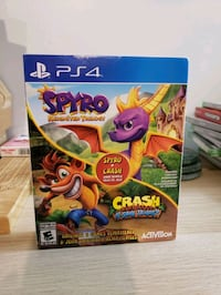 Spyro Reignited Trilogy + Crash N. Sane Trilogy PS4 Bundle Winnipeg, R2C 2J7
