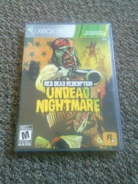 Undead Nightmare Xbox 360 game case Sault Ste. Marie, P6A 1J7