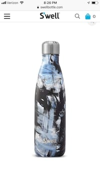 SWELL 17oz water bottle with abstract print New York, 10065