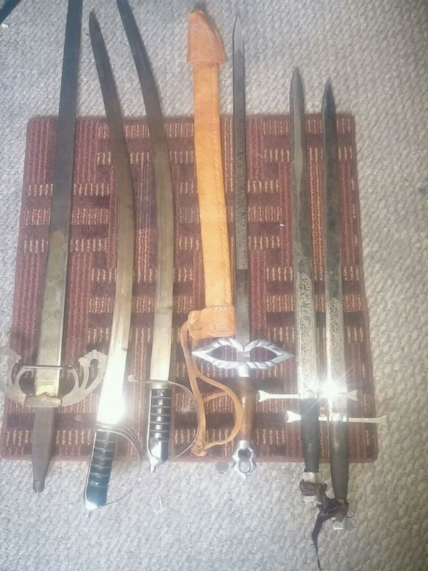 41671ead2ef Eladó használt Vintage swords from different continents and times ...