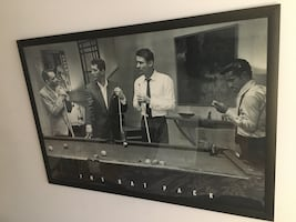 """Poster !! The Rat Pack Framed Poster !! Dimensions: 38"""" x 26"""""""