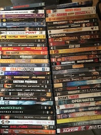 61 DVD's take all for $90.00 obo