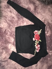 Off Shoulder Rose Crop Top Ogden, 84408