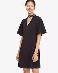 ann taylor black dress nwt 00p Fairfax, 22030