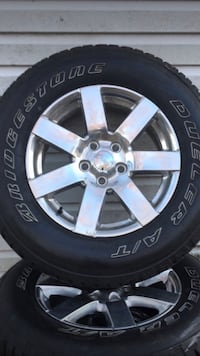 5 tires and rims brand new P255/70/R18 I asking $900 or best ofert  Silver Spring, 20902