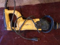 yellow and black corded power tool Aurora, 80010