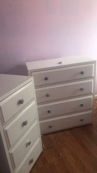 white wooden 3-drawer chest Alexandria, 22315