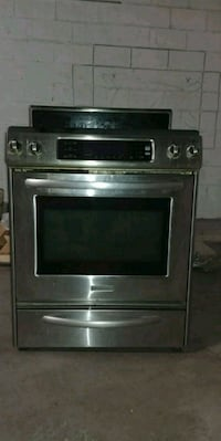 gray and black induction range oven Toronto, M6A 2M9