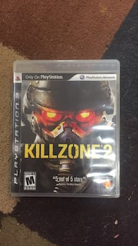 Sony PS3 Killzone 2 case Woodbridge, 22193